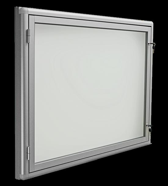 Gablota aluminiowa informacyjna (ogłoszeniowa) - wewnętrzna wisząca