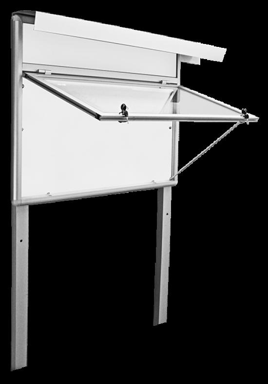 Gablota aluminiowa informacyjna/ogłoszeniowa