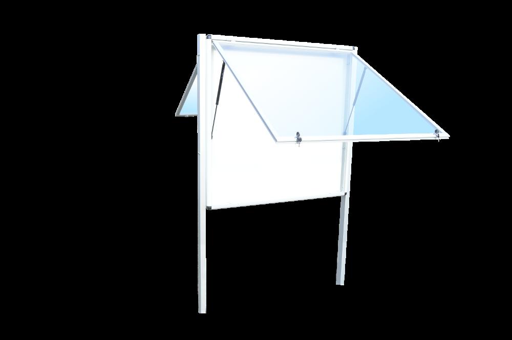 Gablota zewnętrzna stojąca 2-stronna