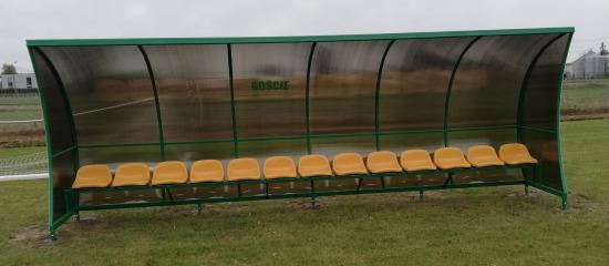 Wiata stadionowa Wolnostojąca
